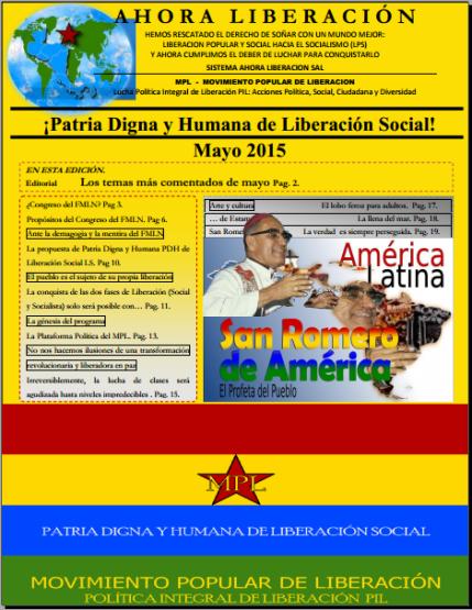 Portada RAE mayo 2015