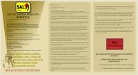 """INVITACION a rescatar """"El legado histórico, político, estratégico, ético y moral del pensamiento, teoría y praxis de Salvador Cayetano Carpio (Comandante Marcial)"""
