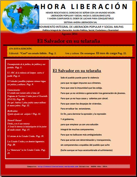 Portada RALE agosto 2014