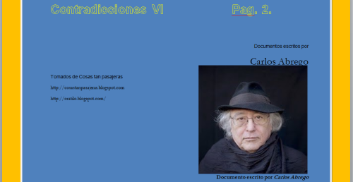 Contradicciones VI-caratula