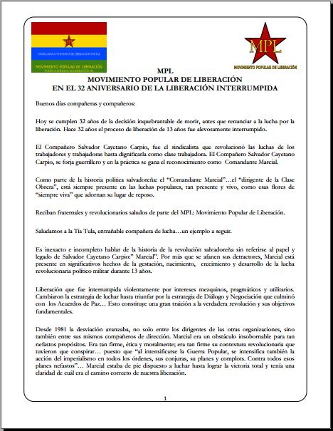 32 aniversario Cayetano - MPL 2015